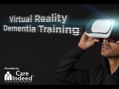 Care Indeed's  VR Dementia Training