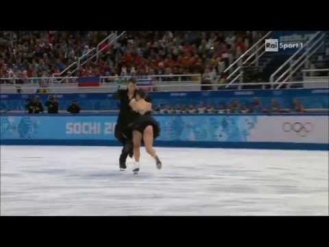 Elena Ilinykh/Nikita Katsalapov FD Olimpiade di Sochi 2014