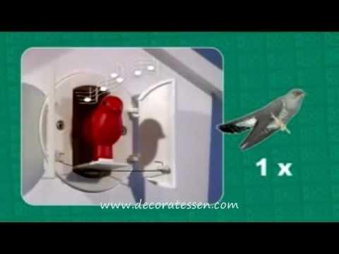 reloj cuco moderno horloge coucou moderne koo koo. Black Bedroom Furniture Sets. Home Design Ideas