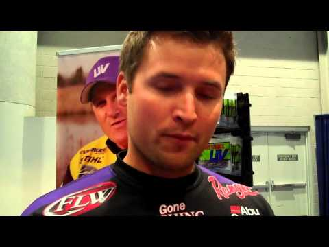 Inside ICAST 2013 Tightlines UV Justin Lucas & Barry Wilson