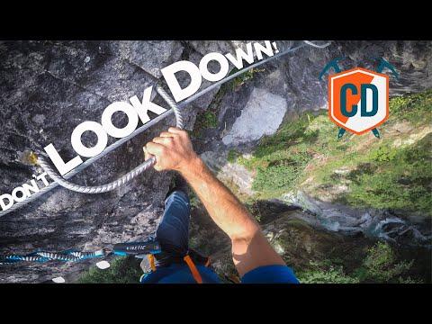 Chamonix's Most EXTREME Via Ferrata | Climbing Daily Ep.1485