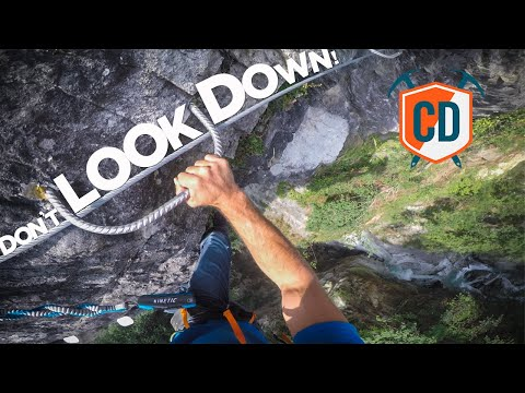 Chamonix's Most EXTREME Via Ferrata | Climbing Daily Ep.1485