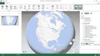 Excel PowerPivot Tutorial with Power Map. 3D Geospatial Data and Heat Maps