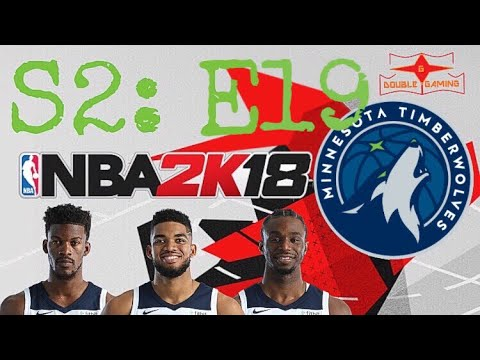 NBA 2k18 MINNESOTA TIMBERWOLVES- GETTING BACK ON TRACK AGAINST TEXAS