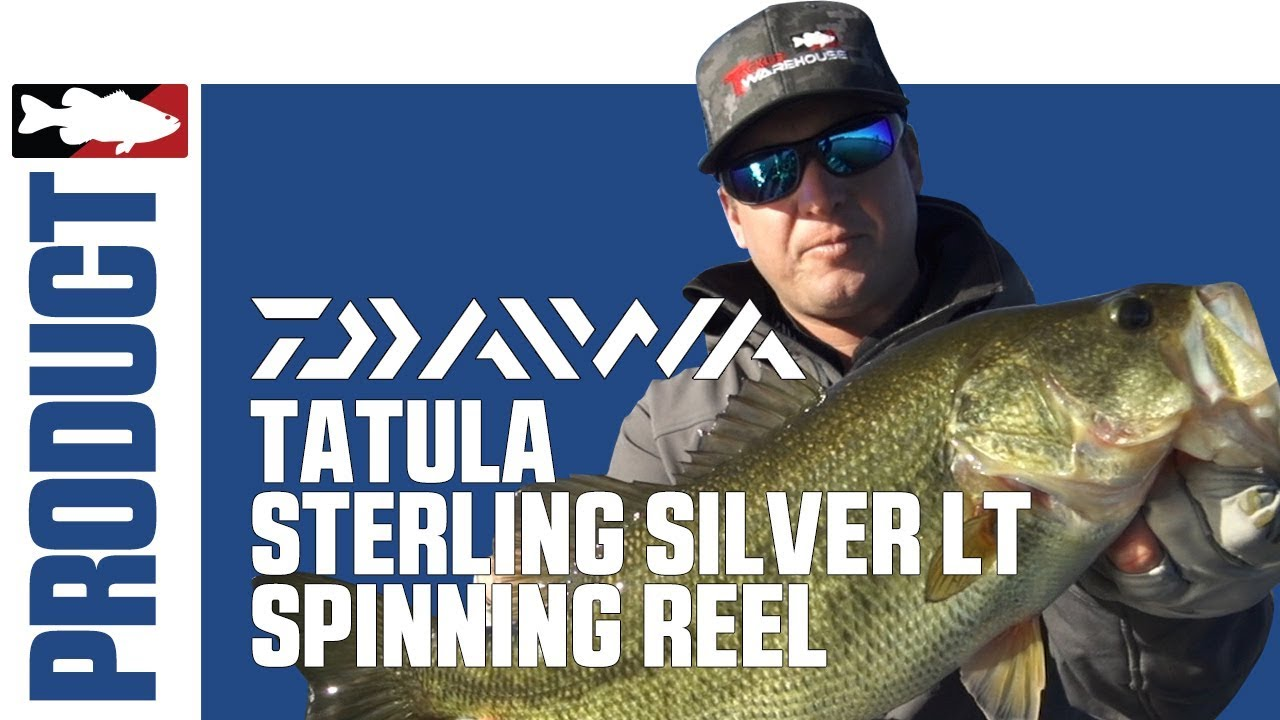 41619238a39 Daiwa Tatula Sterling Silver LT Spinning Reel with Cody Meyer. Tackle  Warehouse