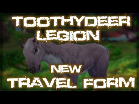 how to change druid travel form