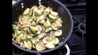 Brussel Sprouts And Zucchini Stir Fry Curry