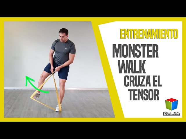 MONSTER WALK cruza el TENSOR
