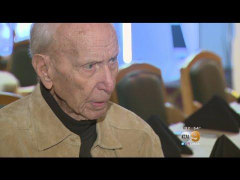 Oldest Living Baseball Player Honored