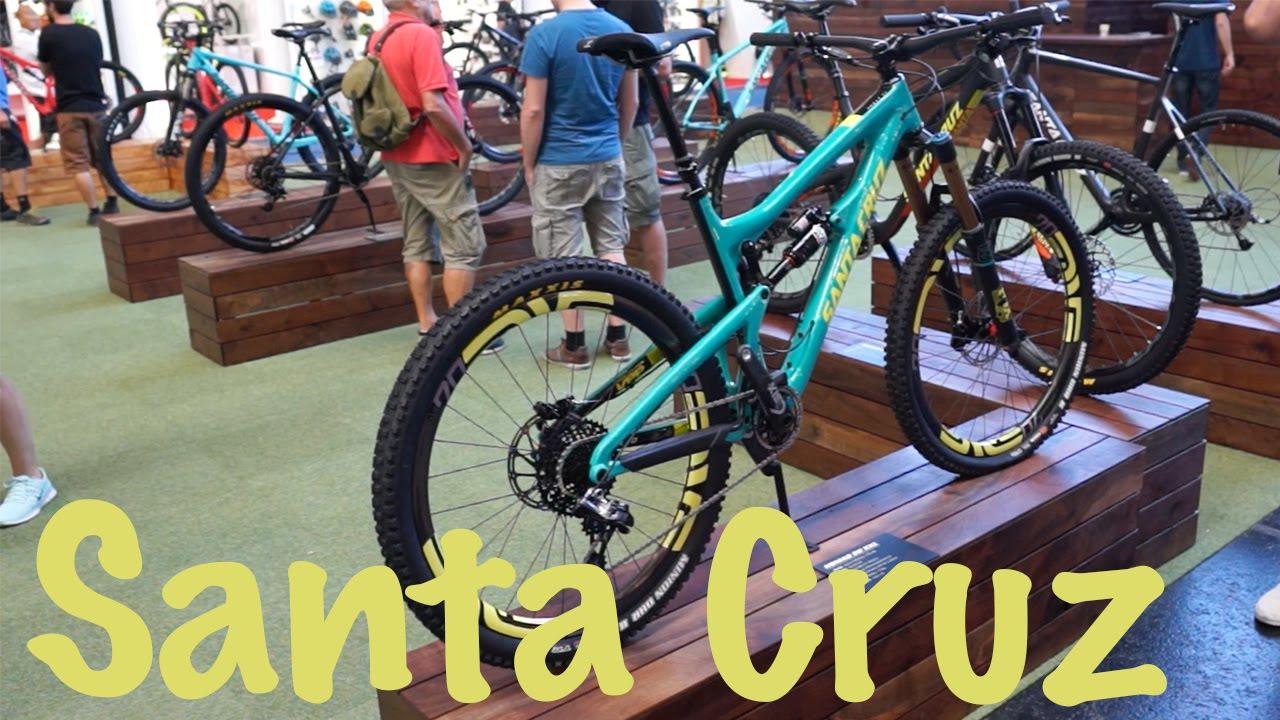 new santa cruz bikes 2016 v10 nomad bronson eurobike. Black Bedroom Furniture Sets. Home Design Ideas