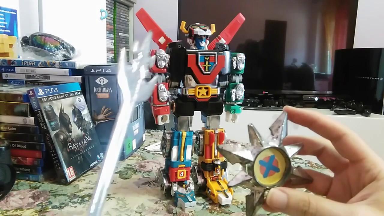 Giocattoli anni voltron robot trasformabile speciale