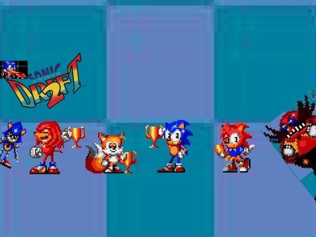 Sonic play Sonic Drift 2!!!!!