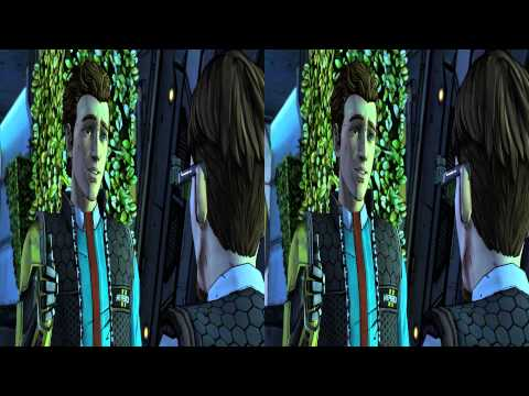 Tales from the Borderlands #001 3D Gameplay Walkthrough SBS Side by Side (3DTV Games)
