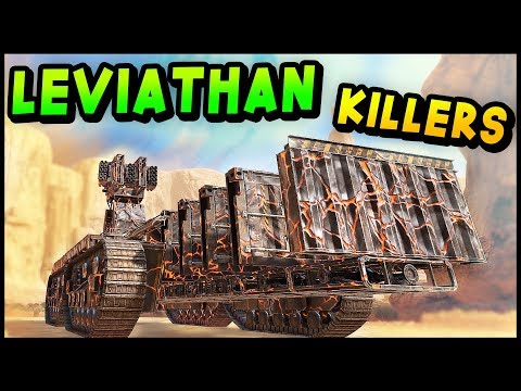 Crossout -The BEST LEVIATHAN KILLER Builds! What a Beast! (Crossout Gameplay)