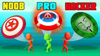 Ultimate Disc Noob Vs  Pro Vs Hacker