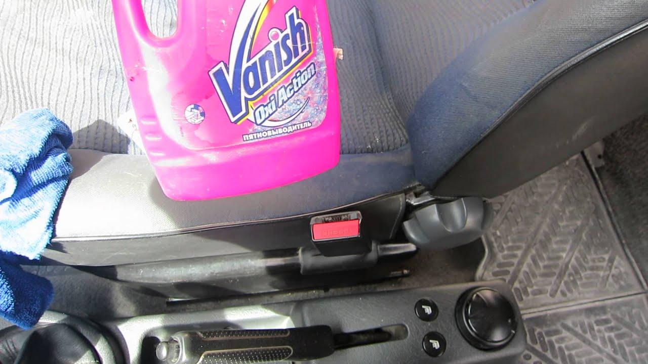 Чем эффективно почистить сиденья автомобиля своими руками