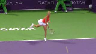Doha Ladies Open2011- Semi FInal [Caroline Wozainaki Vs Marion Bartoli] Thumbnail