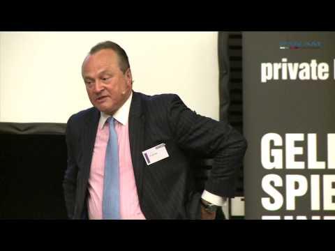 Vortrag von Asienexperte Dr. Karl Pilny auf dem private banking kongress München