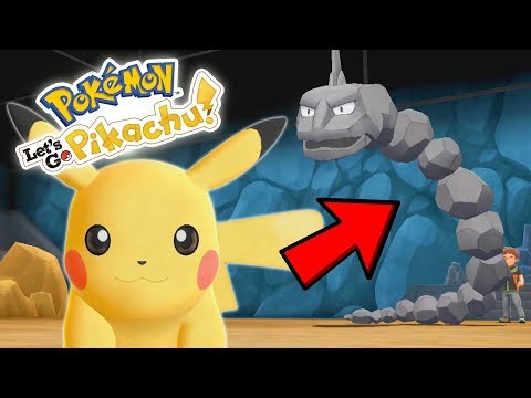 Pokémon Let's Go Pikachu, Let's Go Eevee First Look, My First Thoughts and Gameplay!