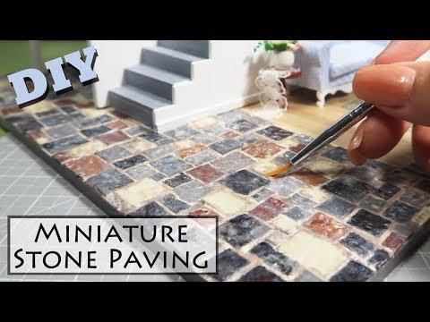 DIY Miniature Stones (made with egg cartons!)