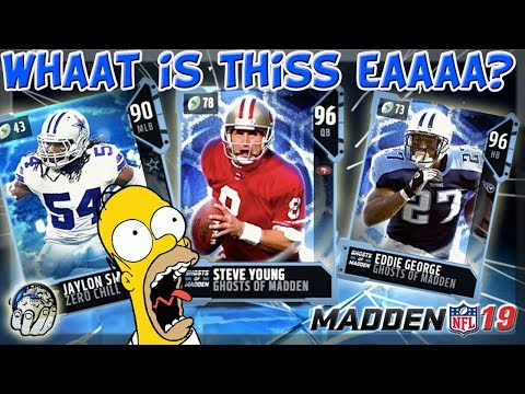 What is This EA? Ghost Of Madden PAST is Nothing I Expected! LTD FULL Legend Madden 19 Ultimate Team