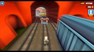 Subway Surfers Бегаем по поездам, Call Of Duty: Dark Skyline или Ghosts (13).