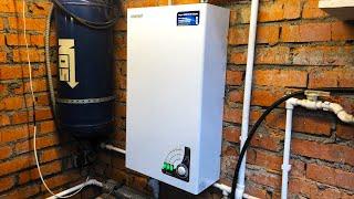 как сделать отопление в гараже от электричества своими руками