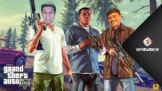 Gameplayrj procurado pela polícia! GTA V com Davy Jones! - EI GAMES #17