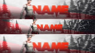 FREE CHRISTMAS FORTNITE BANNER TEMPLATE🦌🎅