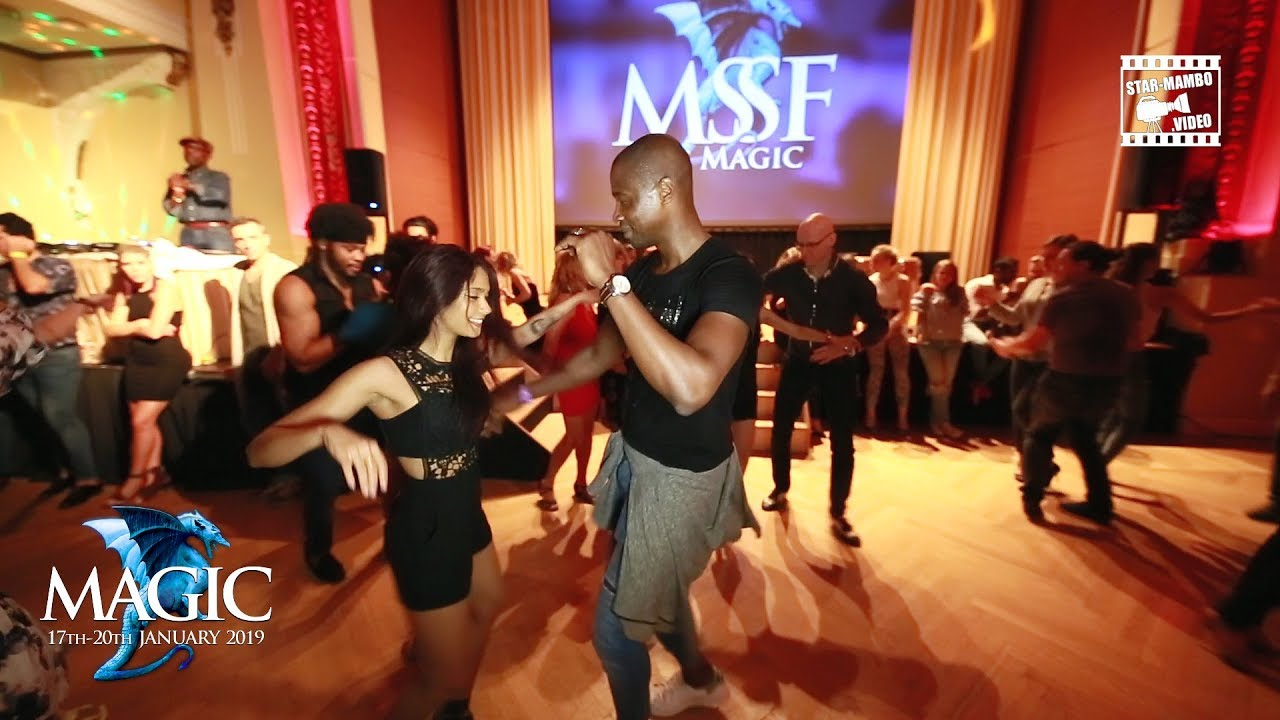 Achile Dinga & Tania Cannarsa - social dancing @ Magic Slovenian Salsa Festival 2018