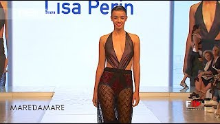ACCADEMIA ITALIANA   LISA PERIN Spring Summer 2018 Maredamare 2017 Florence   Fashion Channel