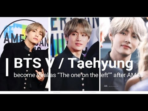 """BTS V / Taehyung become Viral as """"The one on the left"""