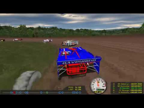 rFactor: In Memory of 04 (DWD Super Stock Sportsman Cars at Bloomington Speedway)