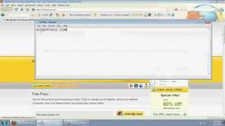 Free Web Proxy Server.How Change My Ip Addreess.