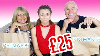 One of Sophie Foster's most viewed videos: MUM VS DAD £25 OUTFIT CHALLENGE!! | PRIMARK | Sophie Foster