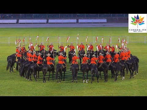 RCMP MUSICAL RIDE CANADA 150 Vancouver Burnaby 2017