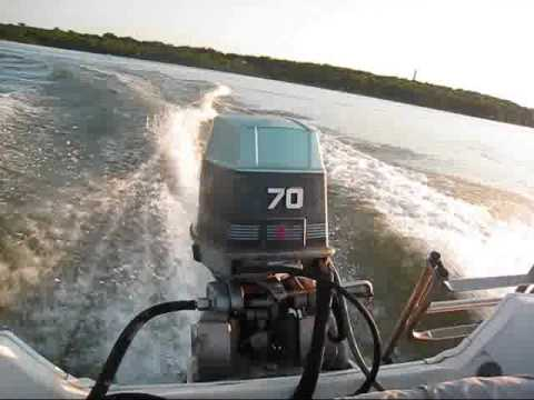 70hp Evinrude For Sale Youtube
