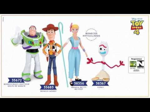 Toy Story 4 - Bonecos Articulados Thinkway