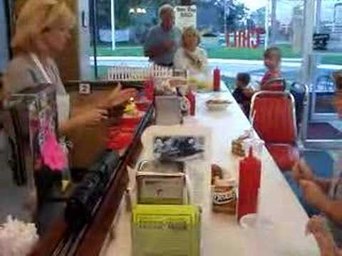 The Choo Choo Diner in Des Plaines Illinois Birthday Party