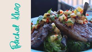 Rachel Khoo's Barbecue Lamb With Spicy Pineapple Dressing