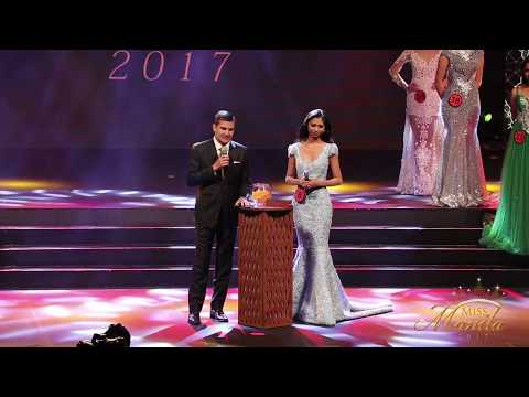 Miss Manila 2017 Coronation Night: Question and Answer of Top 15 Part 1