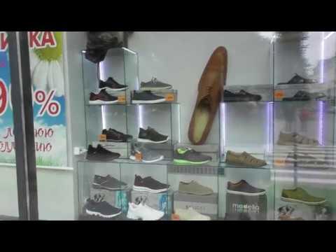 наружная реклама обувного магазина в Великом Новгороде