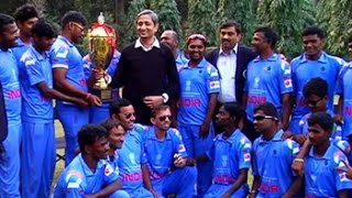 In conversation with the winners of Blind Cricket World Cup