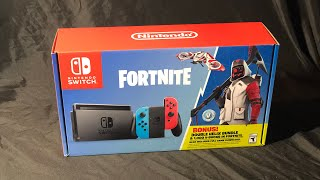 Fortnite Nintendo Switch Bundle ( DOUBLE HELIX SKIN ) UNBOXING!!!