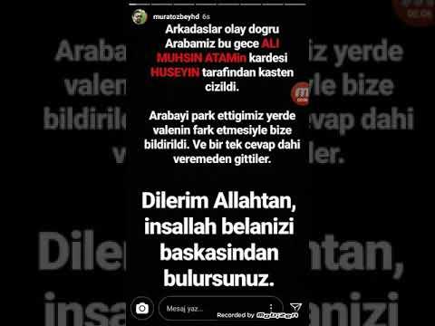 Ali Muhsin Atam Murat Özbey(Babo Films)kavga tüm ayrıntılarıyla! Araba çizme?
