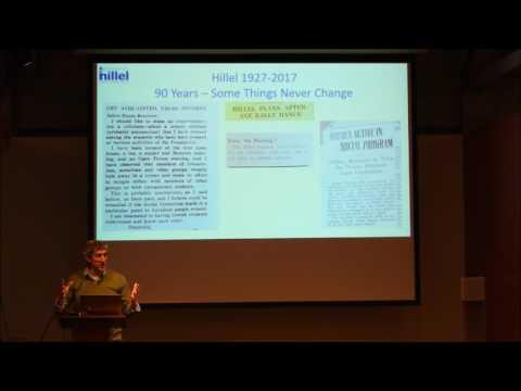 PopUp Exhibition: Adam Naftalin-Kelman on the History of Berkeley Hillel