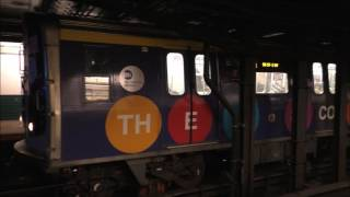 NYC Subway HD 60fps: BMT Broadway Line Rush Hour Action @ Canal Street (2/10/17)