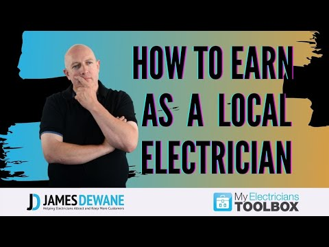 How To Earn As A Local Electrician? - James Dewane
