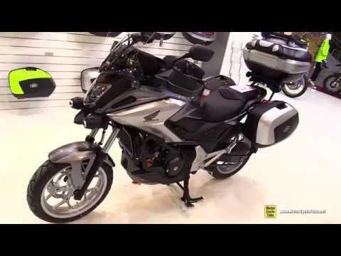 2017 Honda NC750X Givi Accessorized - Walkaround - 2017 EICMA Milan
