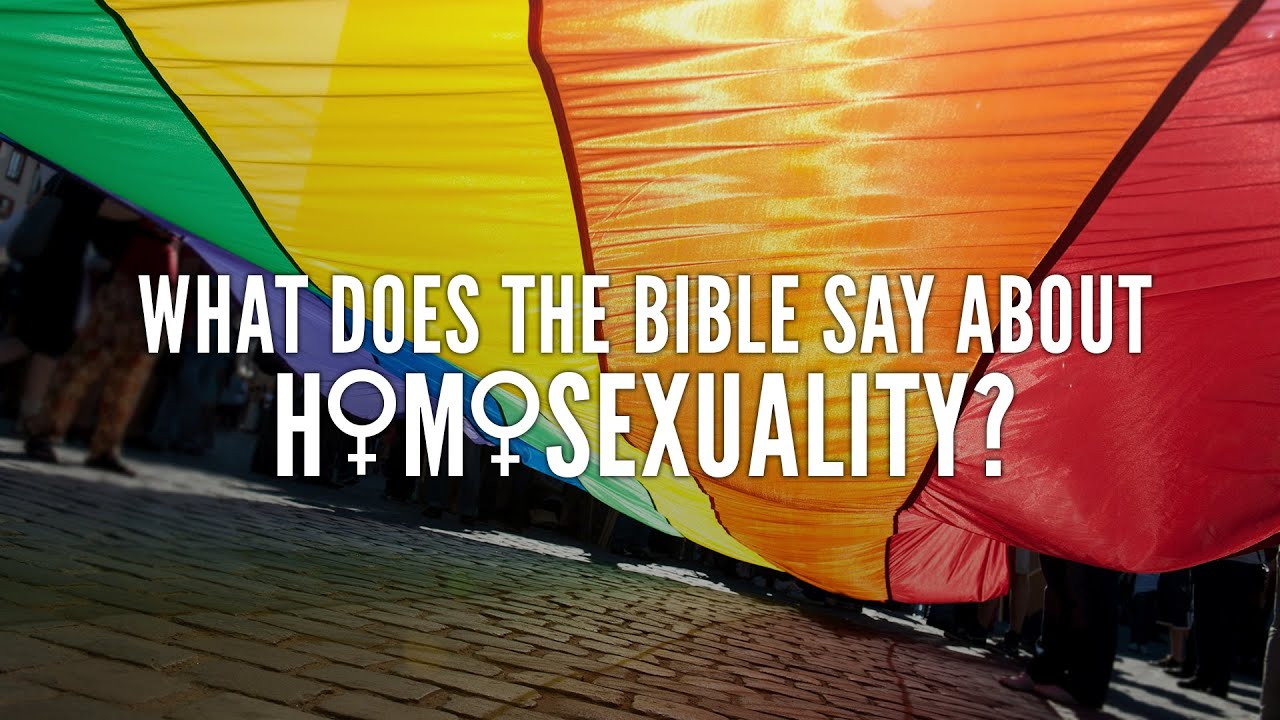 the issue of homosexuality in the bible Going against god's created order in violation of his command to fill and multiply the earth in the act of homosexuality is an exceedingly grave sin.